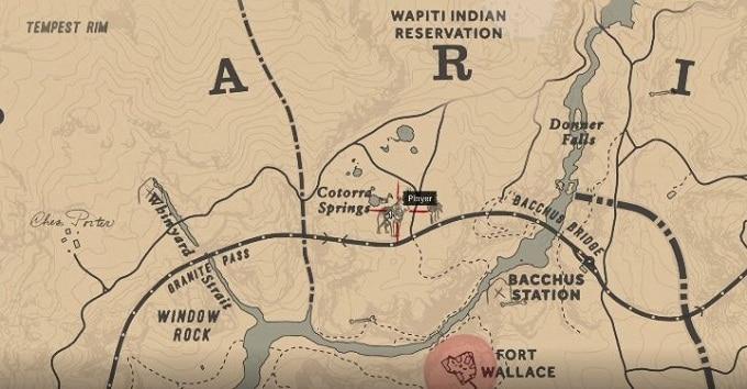Animaux légendaires Loup légendaire dans Red Dead Redemption 2
