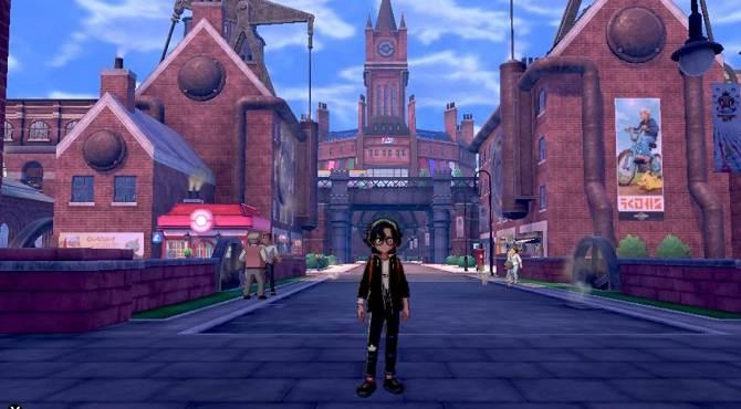 Motostoke City Pokémon Épée et Bouclier chapitres 2 Motorby