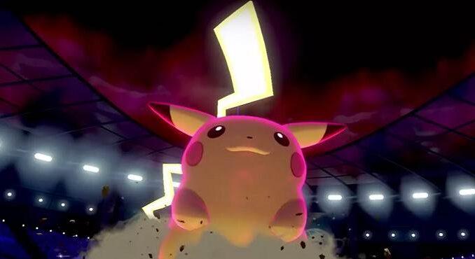 Pikachu Pokémon type électrique dans Pokemon Sword and Shield guide