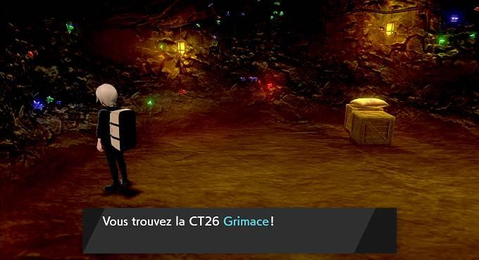 Pokémon Épée et Bouclier Chapitre 2 Guide - CT26 Grimace
