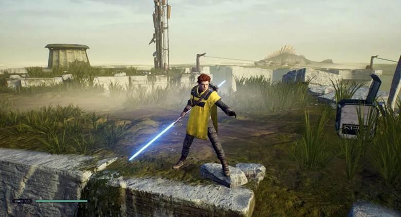 Star Wars Jedi Fallen Order Bogano Coffres et secrets Abandoned Workshop - Sabre Laser - Acier laminé