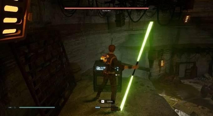 Star Wars Jedi Fallen Order Bogano Coffres et secrets Hermit's adobe Sabre laser - Eno Cordova