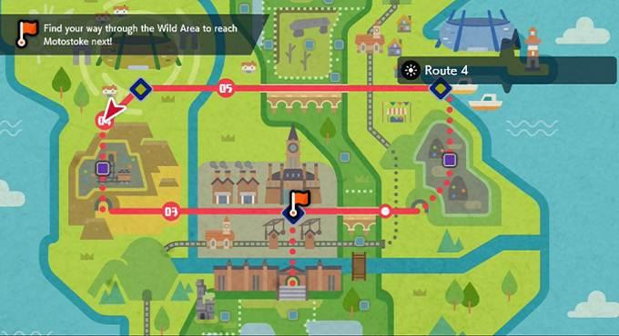 comment obtenir Pikachu sur la route 4 dans Pokémon Sword and Shield