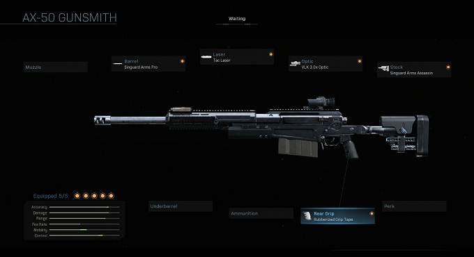 AX-50 Call of Duty Wiki - CoD Modern Warefare