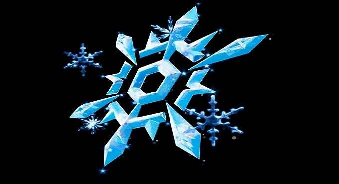 Bling back du cristal de neige. Récompense Fortnite Défi jour 12