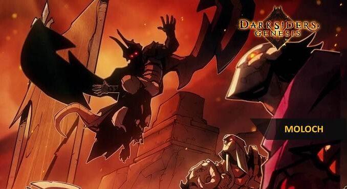 Boss Moloch dans Darksiders Genesis