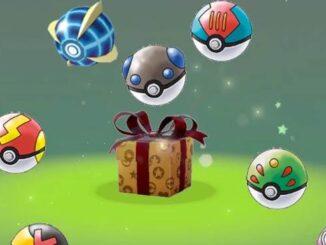 Cadeaux Mystère de Noël gratuits dans Pokémon Épée et Bouclier