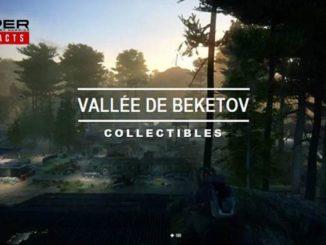 Solution complète Collectibles de la vallée de Beketov dans Sniper Ghost Warrior Contracts