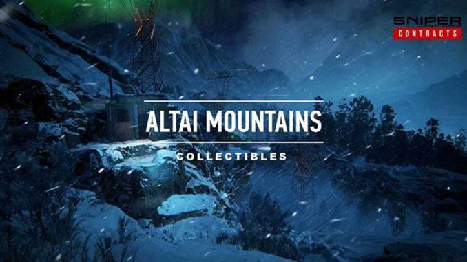 Emplacement Collectibles des montagnes de l'Altaï dans Sniper Ghost Warrior Contracts Wiki guide