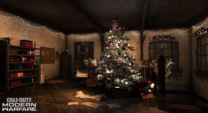 CoD Modern Warfare Guide Comment le faire apparaître le père Noël