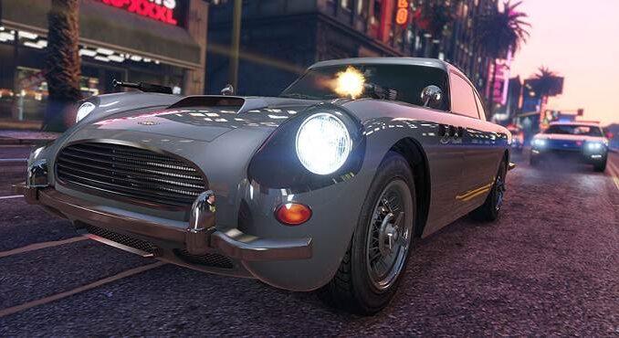 Dewbauchee JB 700 dans GTA online GTA 5 avec des cadeaux spéciaux Nouvel An 2020