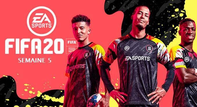 FIFA 20 Saison 2 Semaine 5 Défis Guide de tous les objectifs