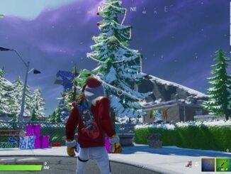 Guide Fortnite Fête hivernale Danser devant des sapins de Noël dans 5 lieux-dits différents