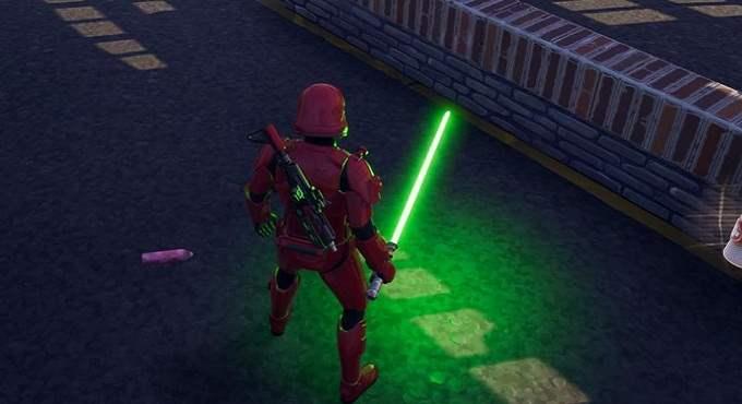 Fortnite X Star Wars Sabre laser Vert