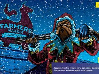 Guide Fortnite fête hivernale débloquer écran de chargement Une nuit aux abois cadeaux Hivernaux