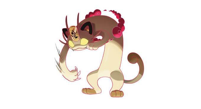 Gigantamax-Capable Meowth Cadeaux Noël gratuits dans Pokémon Épée et Bouclier