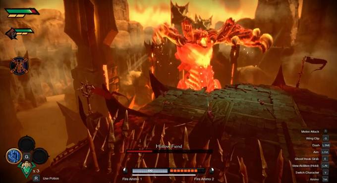 Battre Hollow Fiend dans Darksiders Genesis - Solution complète
