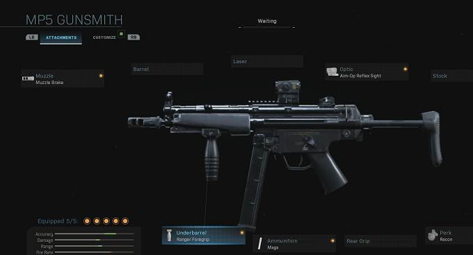MP5 Call of Duty Wiki Guide Meilleurs armes