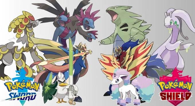 Guide Pokémons Exclusives épée et bouclier