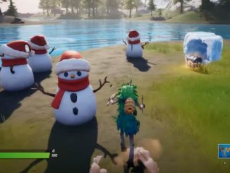 Guide Fortnite défis de Noël - Mission Fête hivernale, Jour 4 Saison 1, Chapitre 2