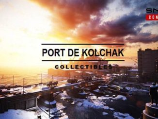 Sniper Ghost Warrior Contracts collectibles du port de Kolchak