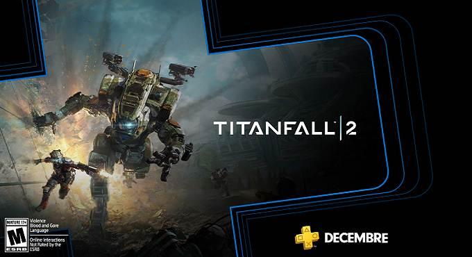 Titanfall 2 - Jeux gratuits PS Plus décembre 2019