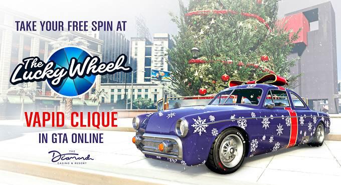 Vapid Clique dans GTA Online Cadeaux festifs Célébrez les fêtes de fin d'année