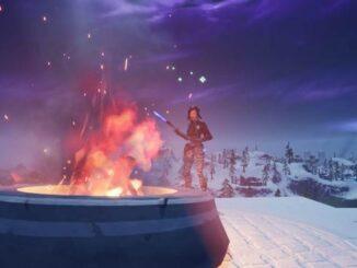 Soluce raviver un feu de camp Fête hivernale Fortnite défis