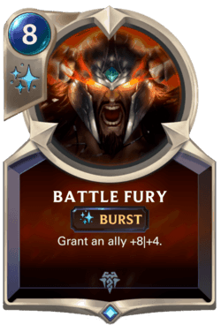 Guide Champion LoR Battle Fury
