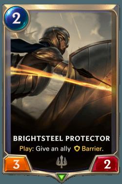 cartes LoR Région Demacia - Brightsteel Protector