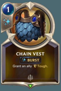 cartes LoR Région Demacia - Chain Vest
