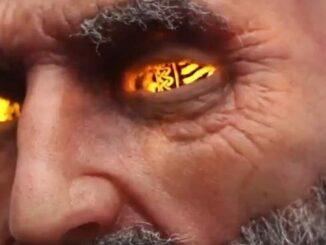 God of War une version animatronique de la tête Mimir incroyable recréée