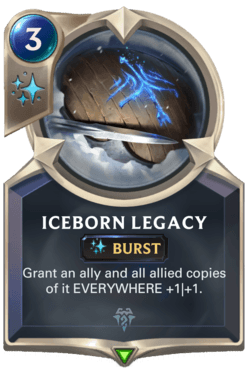Champions et cartes Legends of Runeterra Freljord Guide Iceborn Legacy
