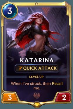 Katrina Champion carte LoR