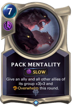 Guide Champion LoR Pack Mentality