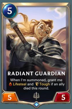 cartes Legends of Runeterra Région Demacia Guide -