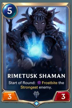 Guide Champion LoR Rimetusk Shaman
