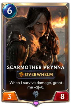 Guide Champion LoR Scarmother Vrynna