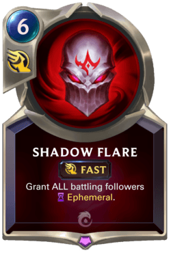 Wiki Guide Champions et Cartes Legends of Runeterra Ionia Shadow Flare
