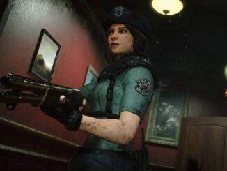 Télécharger modèle 3D haute qualité de Jill Valentine dans Resident Evil 2 Remake