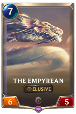 Wiki Guide Champions et Cartes Legends of Runeterra Ionia The Empyrean