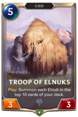 Guide Champion LoR Freljord Troop of Elnuks