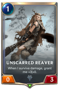 Champions et cartes Legends of Runeterra Freljord Guide Unscarred Reaver