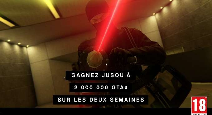 gagner 2000000 GTA$ dans GTA Online