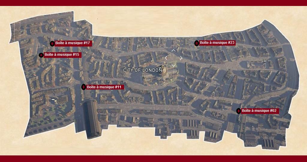 AC Syndicate Collectible Ville de Londres Secrets de Londres soluce