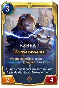 Cartes LoR champion Ezreal - legends-of-runeterra