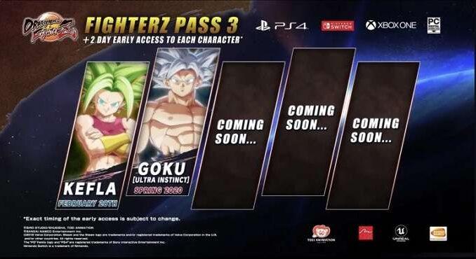 Dragon Ball FighterZ Pass 3 Kefla et Goku (Ultra Instinct)