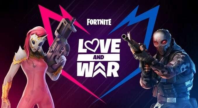 Fortnite défis Amour et guerre Saint-Valentin 2020 Guide