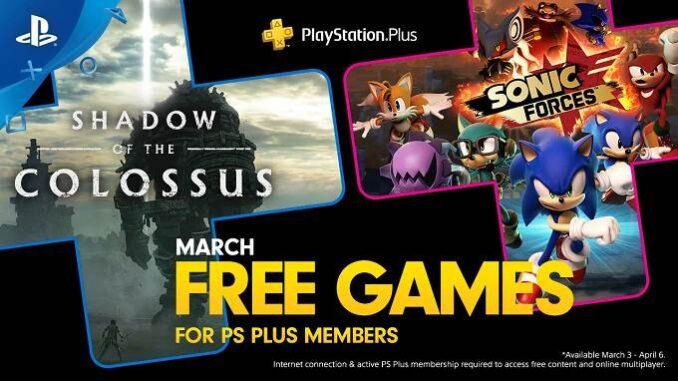 Télécharger Jeux gratuits PS4 PlayStation Plus de mars 2020