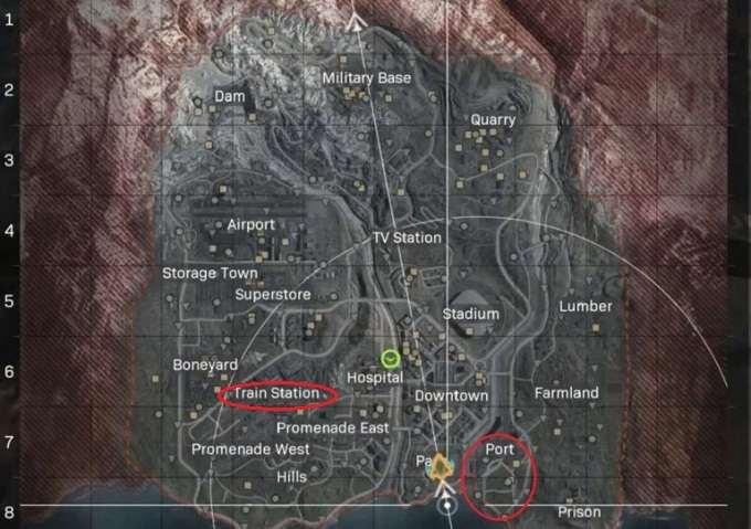Soluce Call of Duty Warzone, saison 2 Mission Des trains et des bateaux